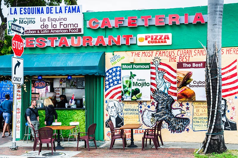 Restauranger i Miami