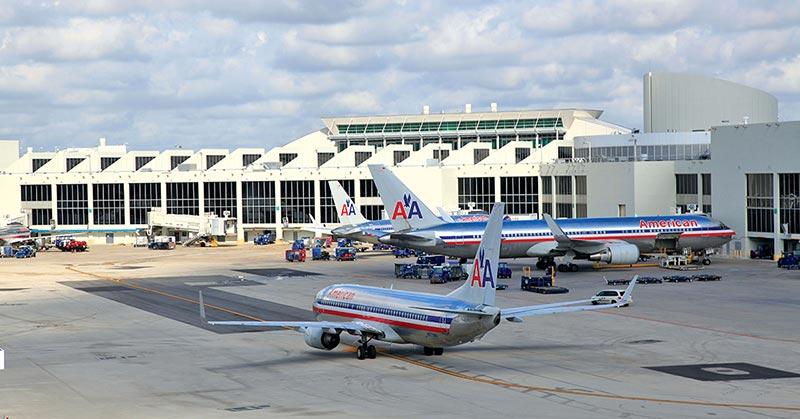 Flygplats MIA Miami International Airport