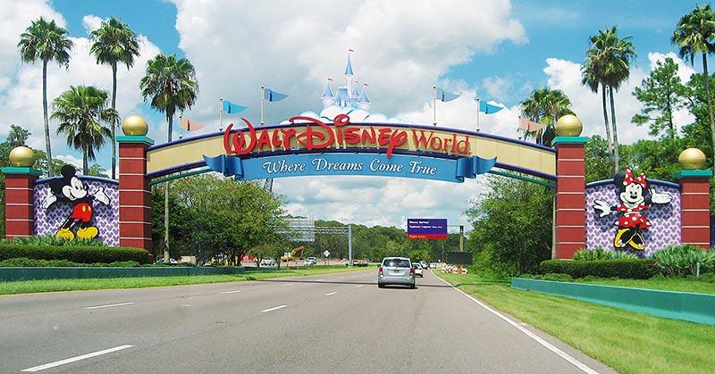 Disney World från Miami