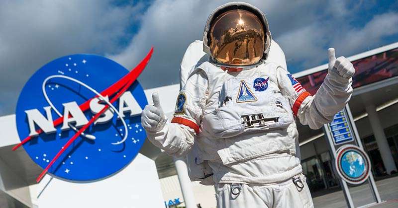 Kennedy Space Center från Miami
