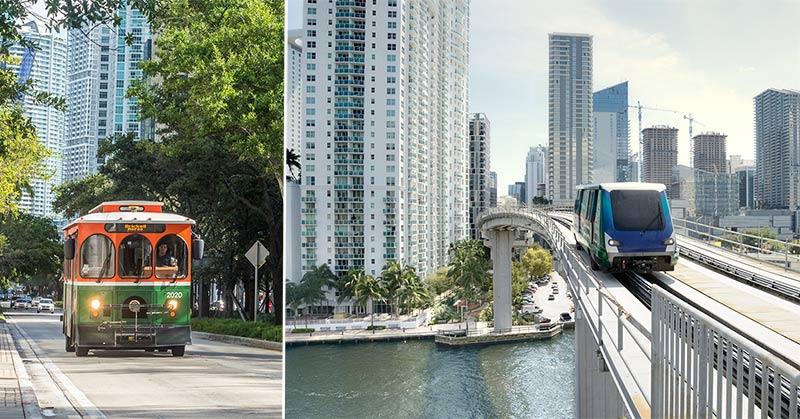 Resa runt Miami - taxi, Uber och kollektivtrafik